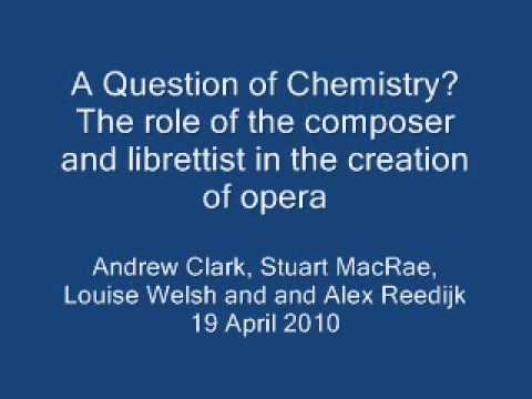 A Question of Chemistry? The role of the composer and librettist in the creation of opera