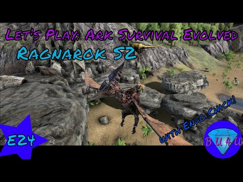Stressful relocation - Ark Survival Evolved with @Endo_Chick| Modded | Let's Play | S2E24