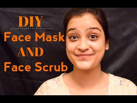 DIY Face Mask + DIY Face Scrub For Good Skin!