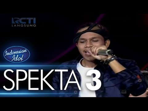 KEVIN - SAYANG (Via Vallen) - SPEKTA 3 - Indonesian Idol 2018