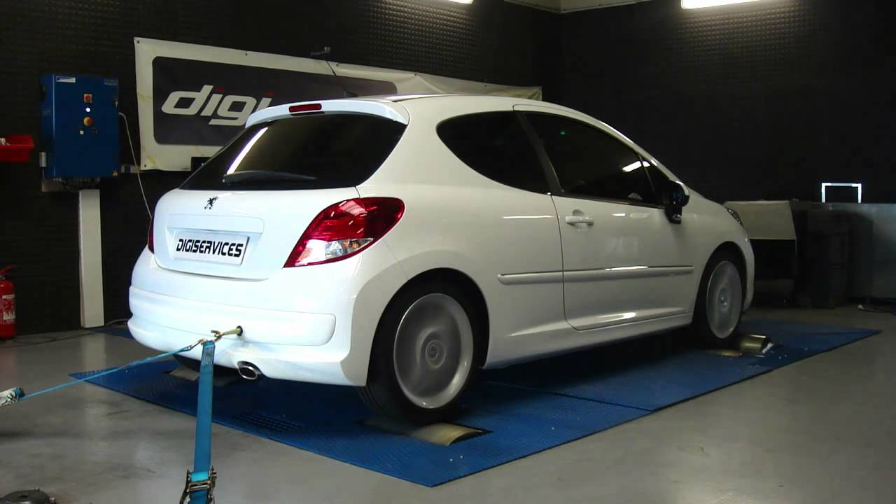 reprogrammation moteur peugeot 207 1 6 hdi 90cv 118cv dyno digiservices youtube. Black Bedroom Furniture Sets. Home Design Ideas