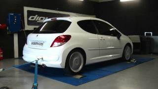 Reprogrammation Moteur Peugeot 207 1.6 hdi 90cv @ 118cv dyno Digiservices