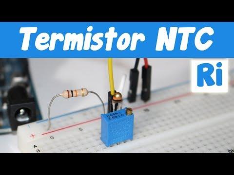 Como usar un termistor NTC para medir temperatura con Arduino