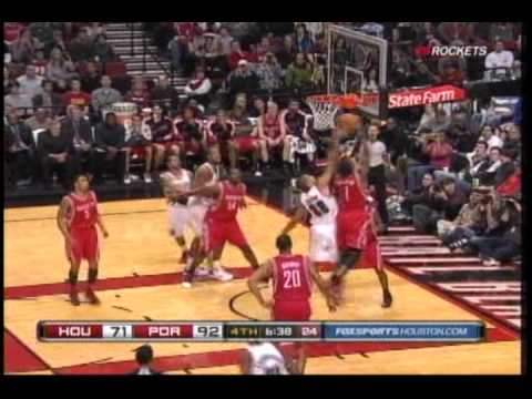 Terrence Williams makes Houston Rockets debut - YouTube