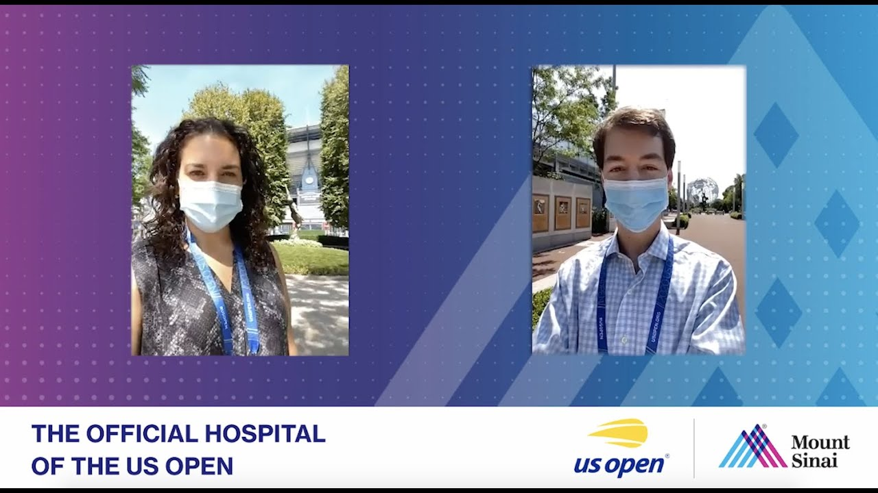 Mount Sinai Physicians Return to the US Open