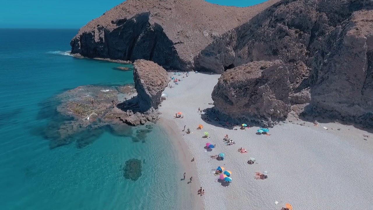 Dji Phantom 3 Drone >> Aguilas, Spain / DJI PHANTOM 4 DRONE - YouTube