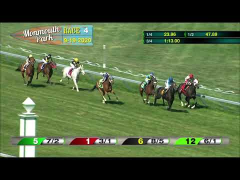 video thumbnail for MONMOUTH PARK 09-19-20 RACE 4