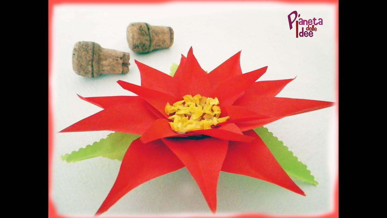 spesso Come fare una Stella di Natale di carta 3D facilissima! - YouTube AI75