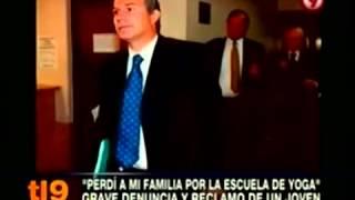 Reportaje: Estimonio de víctima. Escuela de Yoga Argentina. Noticiero Canal 9