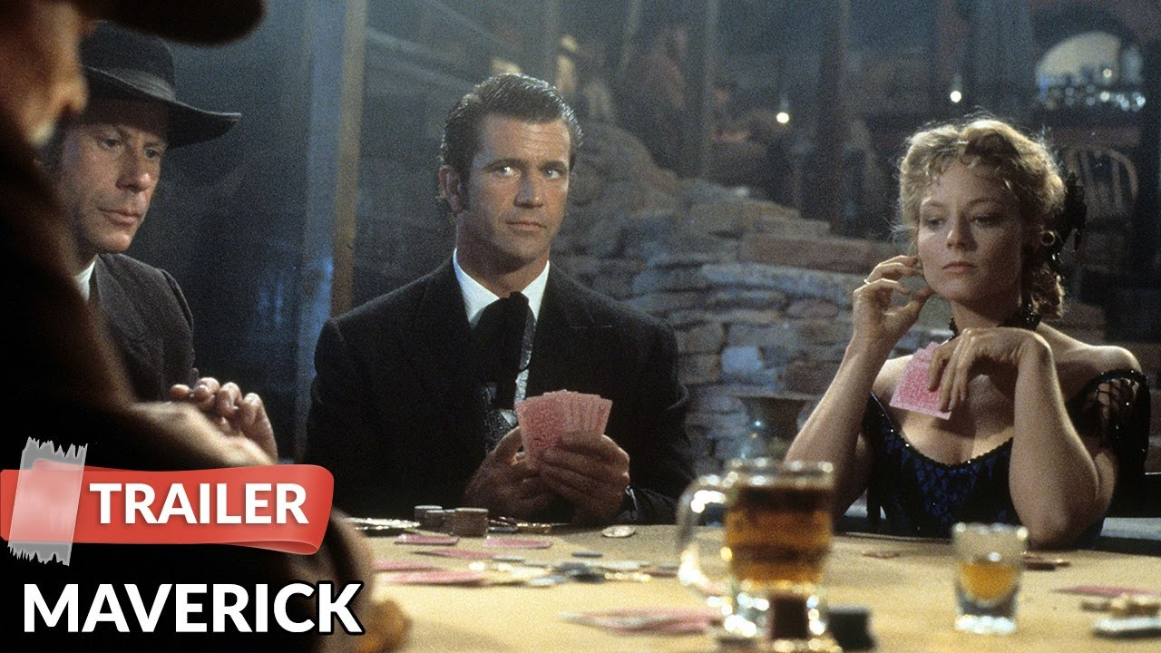Maverick 1994 Trailer Hd Mel Gibson Jodie Foster Youtube