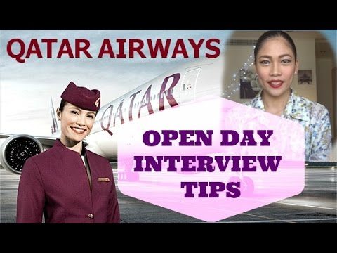 Qatar Airways Cabin Crew Open Day Interview Tips (part 1)