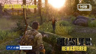 The Last of Us Remastered | HDR | 4K | PS4 Pro | Bill's Town