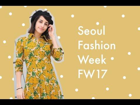 VLOG | Seoul Fashion Week 2017 & Korean Streetstyle