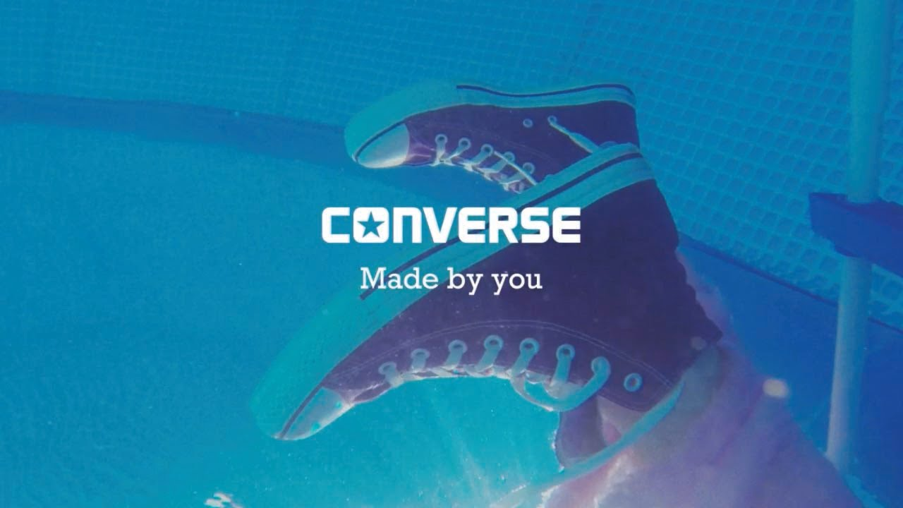 The Chuck Taylor All Star Converse Made by you - YouTube eb59e68c3