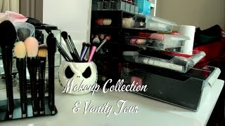 Makeup Collection and Vanity Tour Thumbnail