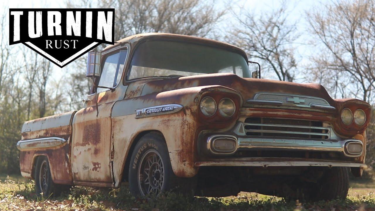 Download 1959 Chevy Apache, Will It Run?   Community's Pick Episode 1   Turnin Rust