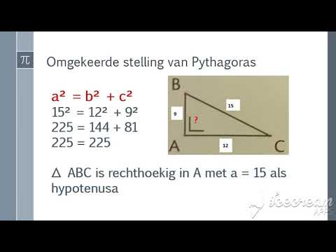 pythagoras vraag 1 from YouTube · Duration:  4 minutes 52 seconds