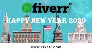 HNY108 Happy New Year USA 2020