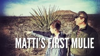 Youth Mule Deer Hunt in West Texas | Matti's First Mulie