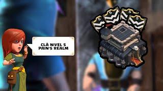 CLASH OF CLANS | PAIN'S REALM CLÃ NÍVEL 5