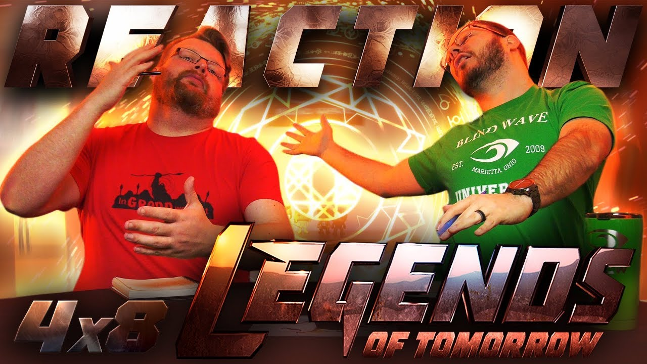 Legends of Tomorrow 4x8 REACTION!!