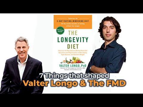 7 Things that shaped Valter Longo & the FMD - FORD BREWER