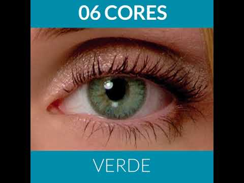 8d02bdb6d9ade Lentes de Contato Coloridas Magic Top - e-lens - YouTube