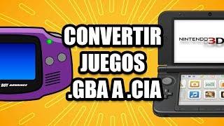 Convertir juegos GBA a CIA - Super Facil by RabKil