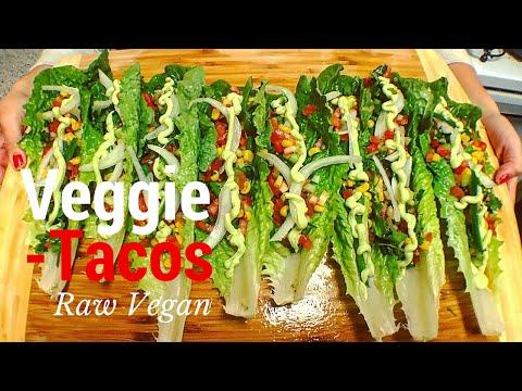 Veggie Tacos | THE RAW BOY RAW VEGAN RECIPES