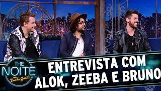 Entrevista Com Alok Zeeba E Bruno The Noite 24 03 17