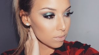 Sparkly Green Urban Decay Tutorial + Giveaway|CLOSED