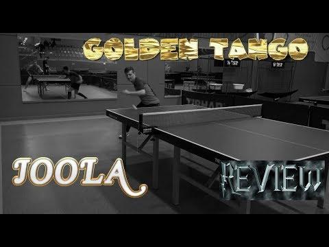 Review Joola Golden Tango - table tennis experts