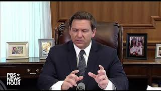 WATCH: Florida governor gives coronavirus update -- March 25, 2020