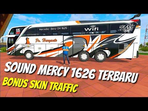 NEW SOUND OBB BUSSID MERCY OH 1626 Mod Sound Dan Traffik Bussid V3.3.2 Terbaru Mercedes Benz - 동영상