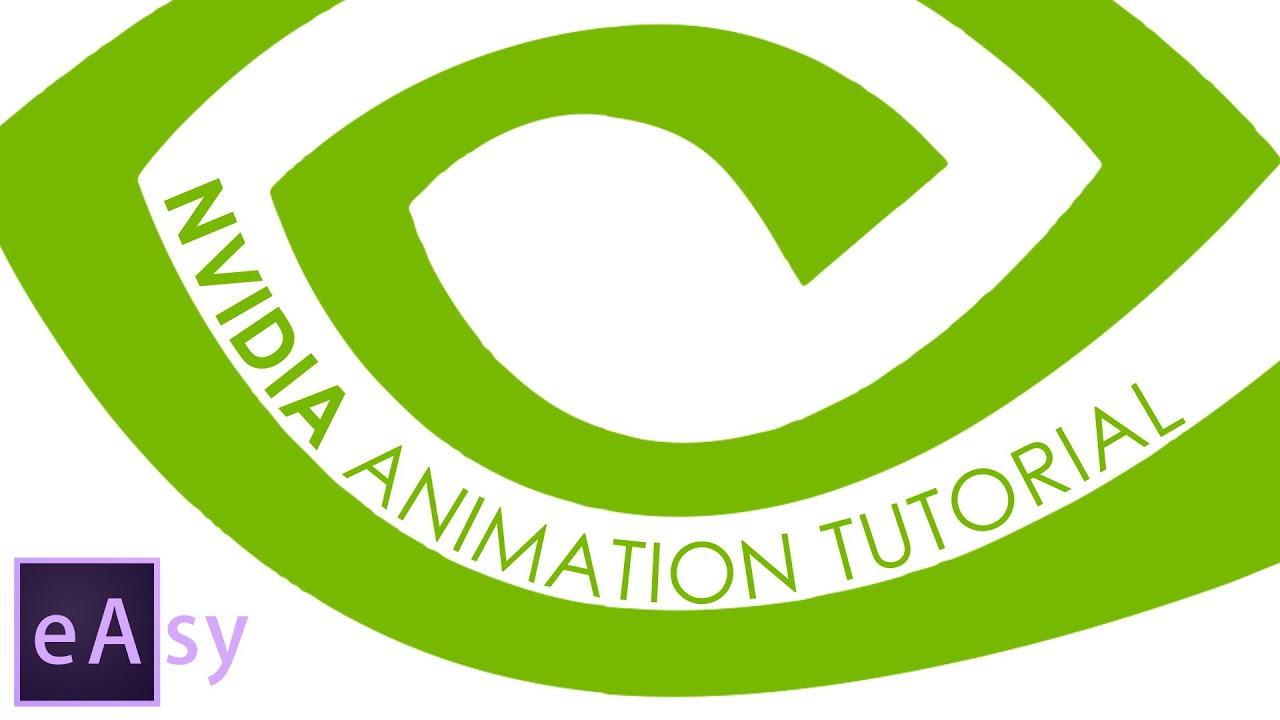 Nvidia animation After Effects tutorial
