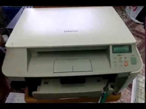 Постоянное замятие бумаги Samsung Scx 4100