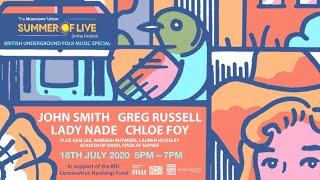 British Underground Presents the #MUSummerOfLive Folk Special!