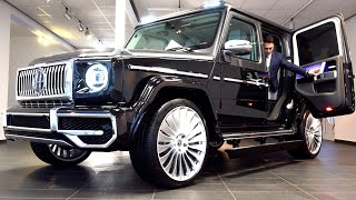 2021 Mercedes G Class | Most Luxurious G WAGON Rolls Royce Doors Hofele Design Review Interior