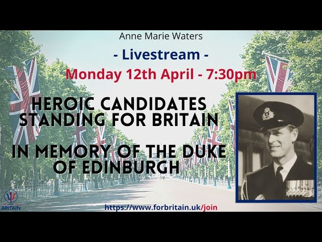 For Britain Live: 12th April 2021
