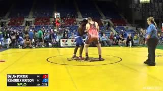 Video 285 Champ. Round 2 - Kendrick Watson (North Carolina) vs. Dylan Porter (Oregon) download MP3, 3GP, MP4, WEBM, AVI, FLV September 2017