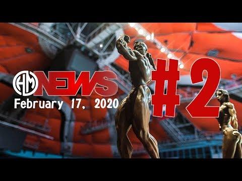 2020 HardMuscles NEWS: бодибилдинг новости 10 - 16 февраля.