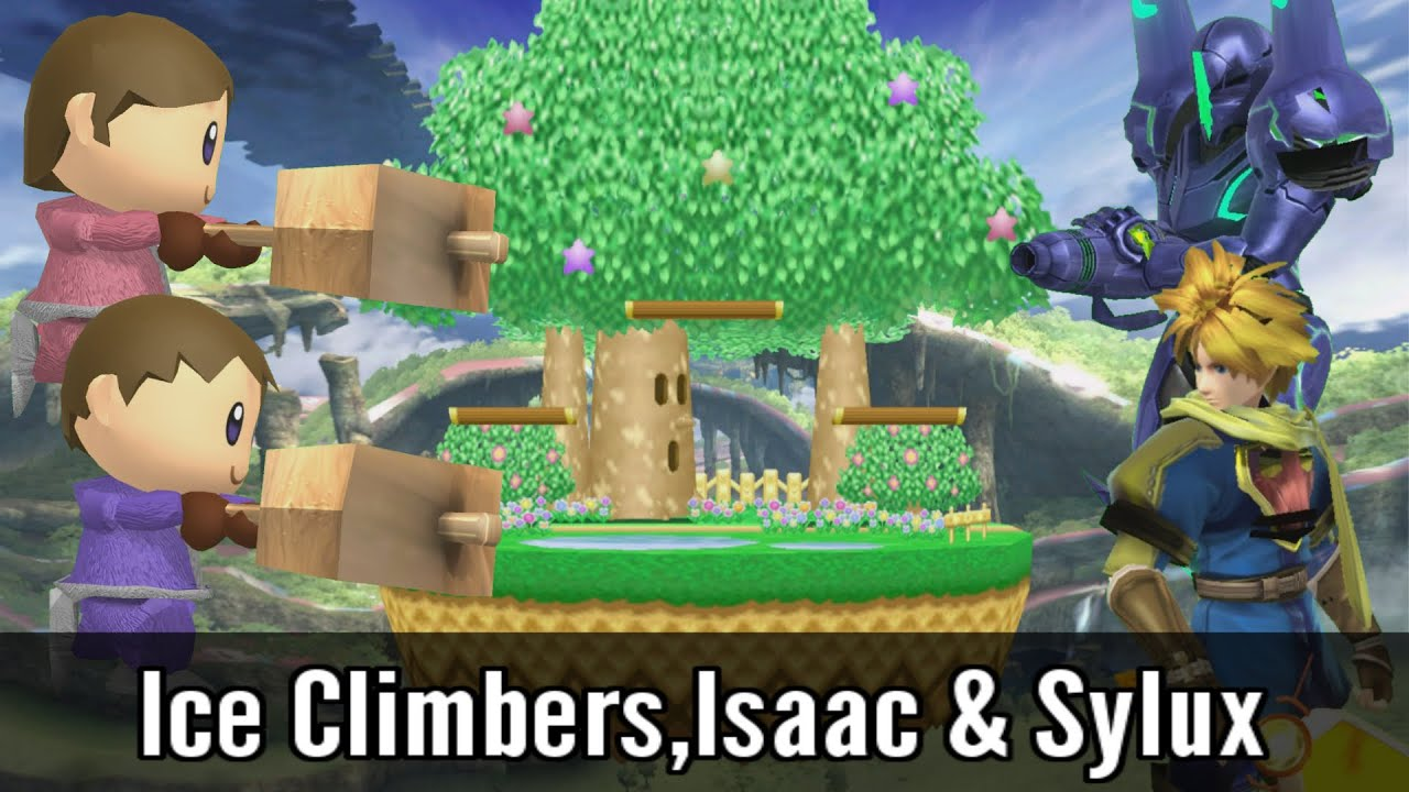 Ice climbers isaac sylux super smash bros wii u mods for Wii u portable mod