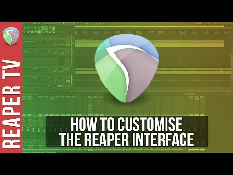 How To Customize The Reaper DAW Layout