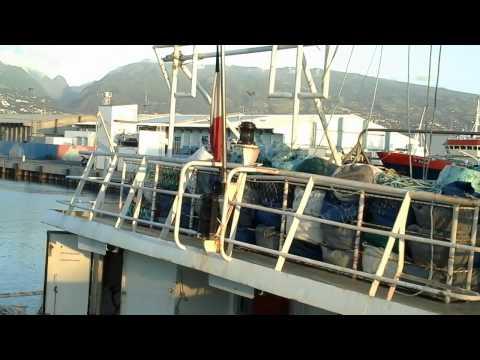 Bateaux de Pêche,Port Ouest Île de la Réunion.