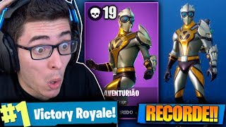 I BOUGHT THE ADVENTURE SKIN AND HIT MY KILLS RECORD! Fortnite: Battle Royale