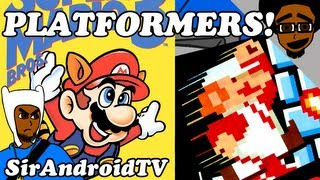 Platformer Games (Video Game Genres) - SirAndroidTV