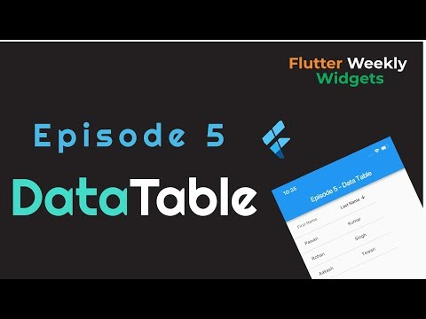 Flutter Weekly Widgets - YouTube