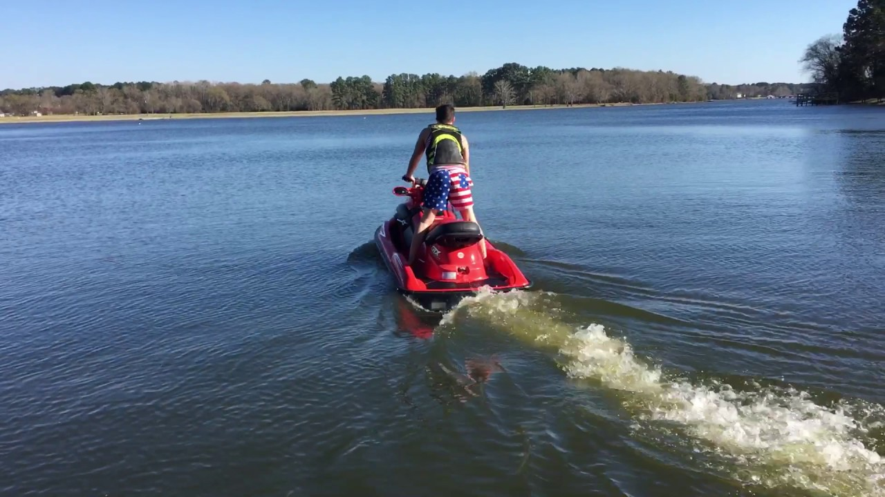 2000 BAD ASS SEADOO GTX MILLENNIUM EDITION 3 Passenger 02/24/2017 Test Run