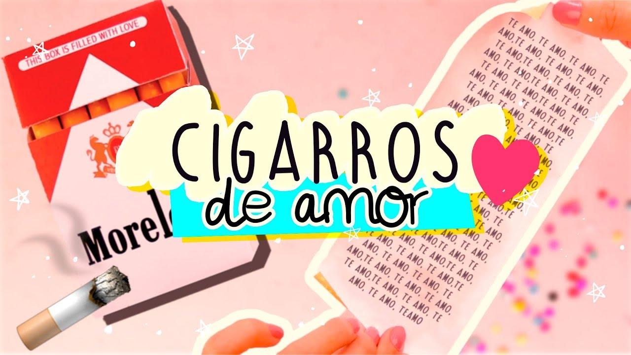 Diy Cajetilla De Cigarros De Amor Cartas Read Me When
