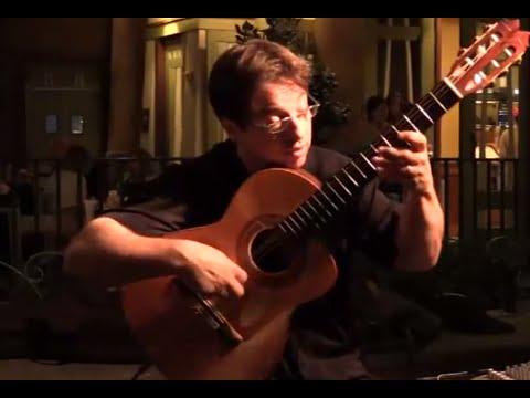 David Wayne Amazing Acoustic Guitar Playing! Latin Quarter